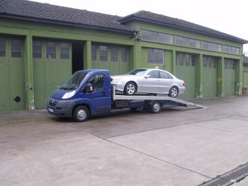 3.5 ton beaver tail car transporter