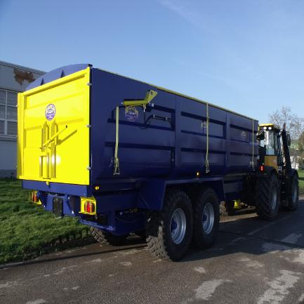 15 TONNE MONOCOQUE TIPPING TRAILER